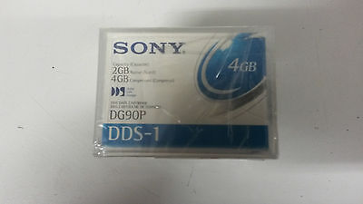 Pack of 5 New Sony 90P Computer Grade Data Cartridge 2GB DG90P DAT/DDS TAPES