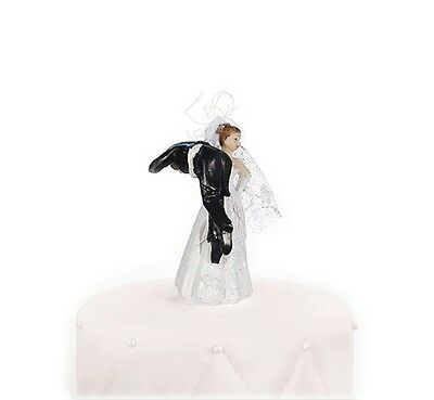 IRPot - TOPPER TORTA NUZIALE SPOSO IN SPALLA PF35 CAKE DECORAZIONE TORTA WEDDING