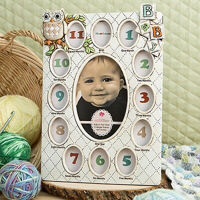 Baby's First Year Collage Frames - Gift Favors / FC-12810