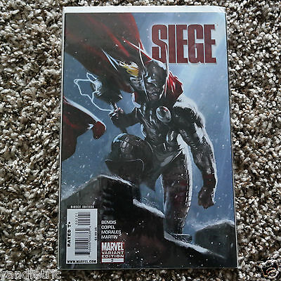 SIEGE #2 - Gabriele Dell'Otto variant - Fine - see pics for condition