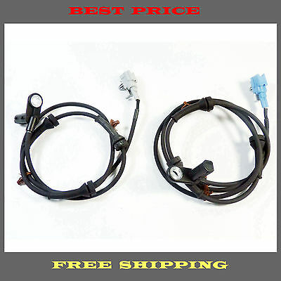 Set 2 Rear Left & Rear Right ABS Wheel Speed Sensor Fit Maxima 04 05 06 07 08