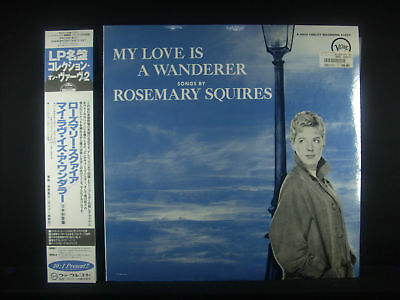 LP ROSEMARY SQUIRES - my love is a wanderer,Japan-LP, nm
