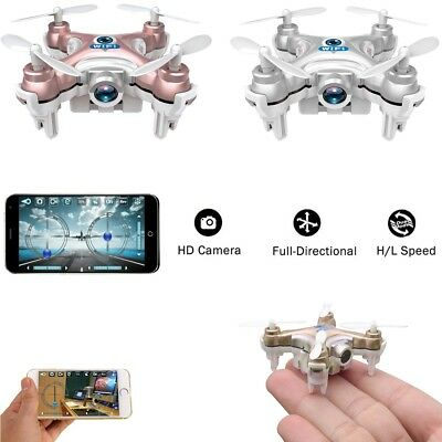 WiFi Controlled Mini Quadcopter with Camera Super Micro Nano Quadcopter RC Drone