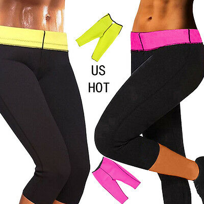 Hot Neoprene Slimming Pants Weight Loss Yoga Workout Sweat Sauna Burner Shapers