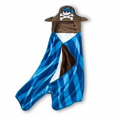 NWT** Kids Circo PIRATE HOODED TOWEL* Bath, Beach Towel**