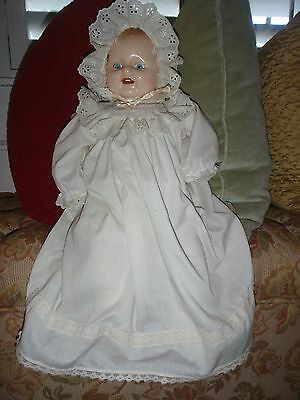 "1985 Horsman 20"" Baby Doll Composition Head/Stuffed Body Excellent Condition"