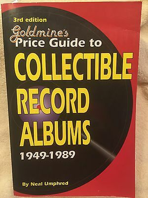"""""""Goldmine's Price Guide to Collectible Record Albums 1949-1989""""-Neal Umphred-NM"""