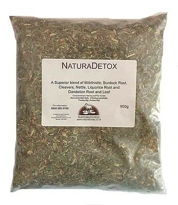 Detox Herb blend for horses including Milkthistle burdock cleavers nettle 900g