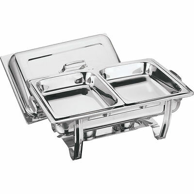 2 Pans 8.5L Chafing Dish  Party Cater Food Warmer Restaurant Cuisine Catering