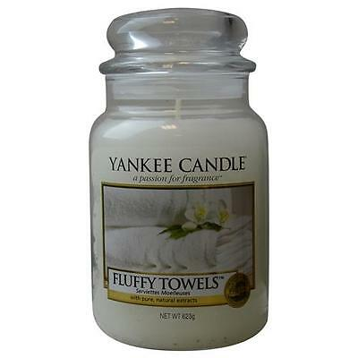 Yankee Candle Fluffy Towels Scented Large Jar 22 oz