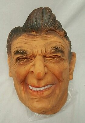 Vintage PRESIDENT RONALD REGAN RUBBER LATEX MASK GERMANY