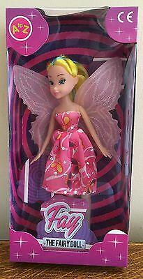 Fay Fairy Doll Angel Dolly Wings Xmas Girls Toys Christmas Gifts Stocking Filler