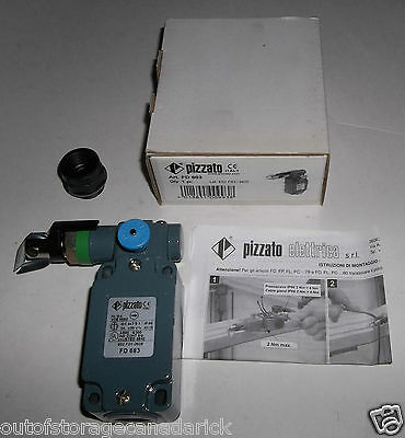 Pizzato FD-683 Rope Pull Switch Left Pull Manual Reset FD 683 - Brand New In Box