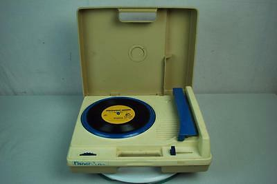 Vtg Fisher Price Turntable Record Player 45 33 RPM AS IS Parts Repair No Sound