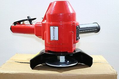 "NEW Universal Tool Pneumatic Air 7"" 5/8-11 Heavy Duty Vertical Grinder 4HP"