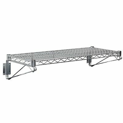 Vogue Wire Wall Shelf Restaurant Catering Kitchen Heavy Duty Shelving 610 x360mm