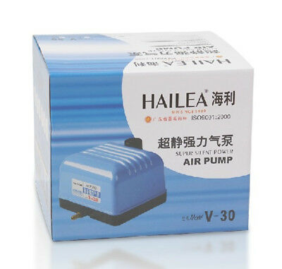 Hailea Air Pump, Oxygen PumpV Series V-30 6Way 25W Aquarium Koi Hydroponics