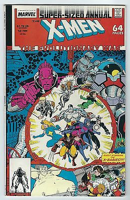 Super Sized Annual X-Men The Evolutionary War #12 Marvel Comics 1988