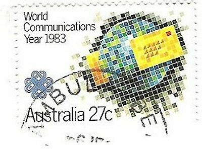 Australia Post stamp 1983 World Communications Year MORE DETAILS IN DESCRIPTION