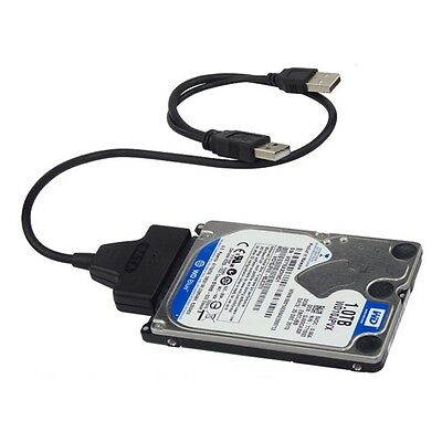 USB3.0+2.0 to SATA 22Pin Cable for 2.5inch HDD Hard Drive Solid State Drive M2