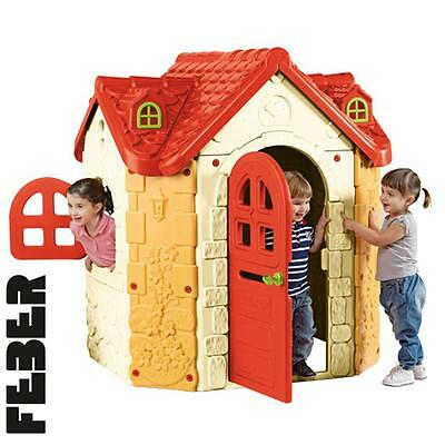 Feber Fancy House - Super Colourfull Childrens Premium Playhouse