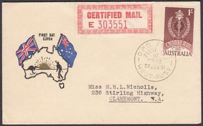 Australia 1961 First Day Cover 1/- Colombo Plan 10th Anniversary