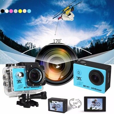 SJ9000 16MP WIFI 4K Action Ultra HD Sports DV Cam Camera Waterproof Camcorder
