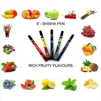 1X Fruit Flavor Disposable Electronic Shisha Stick Pen 500 Puff Hookah 40 Styles