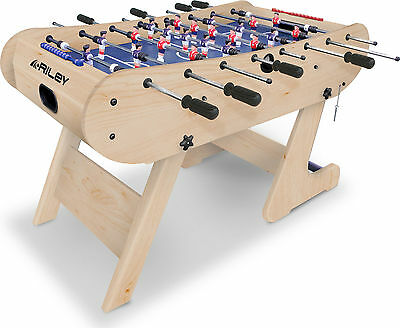 Riley 4ft Azteca Folding Football Table FFT13-4LN