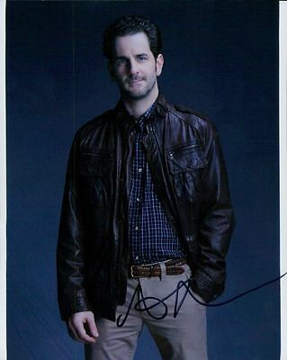 Aaron Abrams In Person Signed Photo - A814 - Hannibal, Blindspot & Rookie Blue