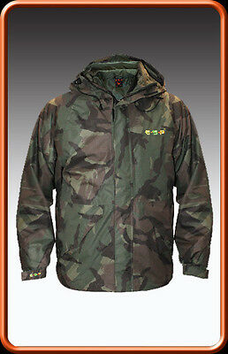 ESP Stash Camo Carp Fishing Waterproof Jacket