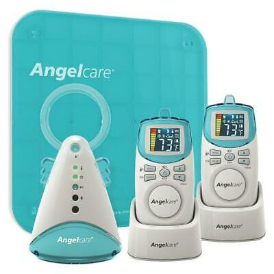 Angelcare Baby Digital Sound & Movement Monitor Rechargeable - Bonus Pack (2 Par