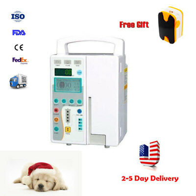 CE Veterinary LCD Infusion Pump IV & Fluid Administration Audible visual alarm