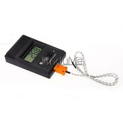 TM902C Digital LCD Thermometer Temperature Reader Meter Sensor K Type Probe MO
