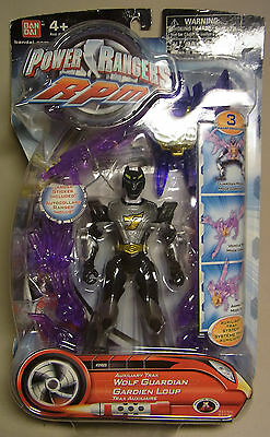 Power Rangers RPM Auxiliary Trax WOLF GUARDIAN Bandai 2009 Action - Figur OVP