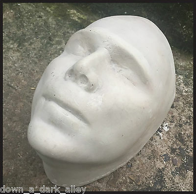 Antique Death Mask - Memento Mori - Postmortem - Gothic Decor