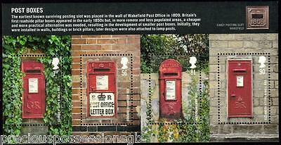 GB QEII MNH STAMP MINIATURE SHEET 2009 Post Boxes MS2954 10% OFF ANY 5+