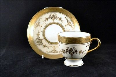 Stunning Minton Riverton K227 Coffee Cup & Saucer. Wedgwood Prestige Collection