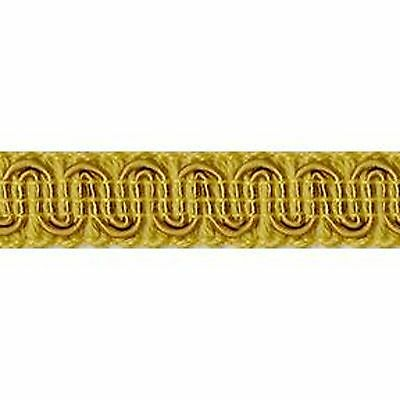"Upholstery Scroll Gimp Old Gold 1/2"" Wide 36 yards ( 33 meters) Furniture Trim"