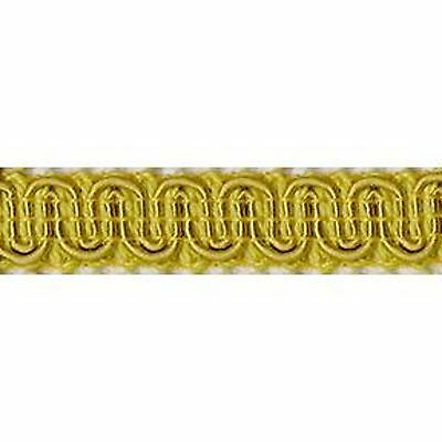 "Upholstery Scroll Gimp Antique Gold 1/2"" Wide 36 yards 33 meters Furniture Trim"