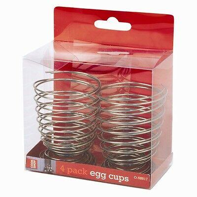 New In Pack 4 Spiral Egg Cups Very Quirky Holds Most Size Eggs L@@k
