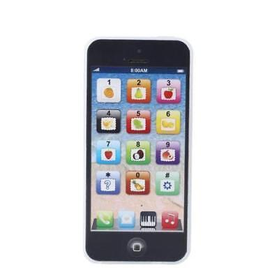 BLACK Toy Phone Childrens Y-PHONE Educational Learning Kids iphone Toy 4s 5 GIFT