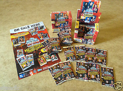Topps WWE SLAM ATTAX TAKOVER TRADING CARDS - 8 CARDS PER PACK BRAND NEW