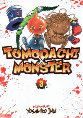 Tomodachi X Monster  Volume 3  Yoshihiko Inui   Manga Pbk  NEW