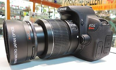 58MM TELEPHOTO ZOOM LENS FOR Canon EOS 80D  WITH 18-55mm AND 55-250mm Lenses