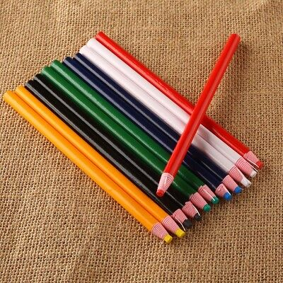12 PCS Peel off China Marker Grease Pencil for wood Glass Metal Cloth Wax Grease