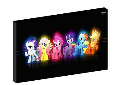 """MY LITTLE PONY d 12""""X16"""" (A3) CANVAS PICTURE"""