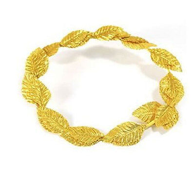 Laurel Leaf Headband Roman Wreath Headpiece Toga Fancy Dress Costume Access (WF)