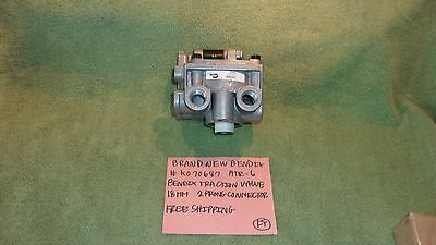 Bendix # K070687 Atr-6 New Valve Traction 18 Mm 2 Prong Connector Free Shipping