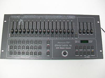 American DJ Stage Desk-16 16Ch Dimmer Console